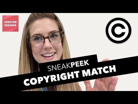 Copyright Match - Sneak Peek!