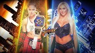 FULL MATCH - Ronda Rousey vs. Charlotte Flair - SmackDown Women's Championship Match: Summerslam