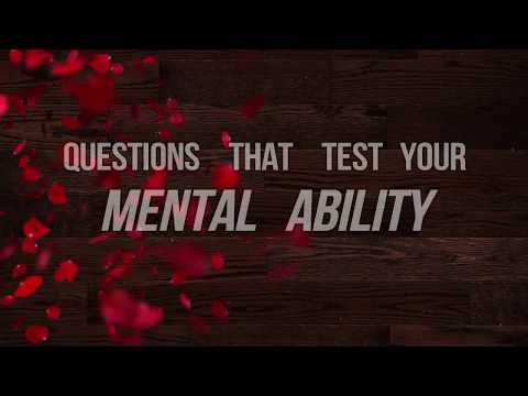 Questions That Will Test Your MENTAL ABILITY