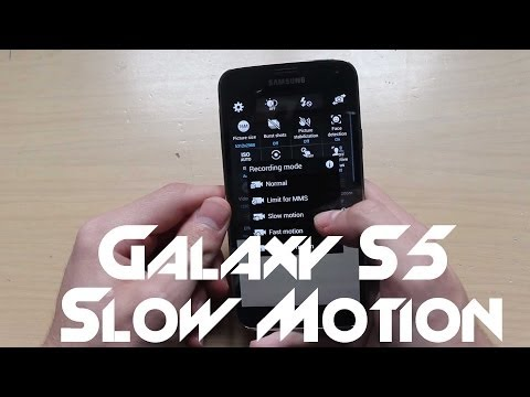 Samsung Galaxy S5 - How To Record Slow Motion Videos