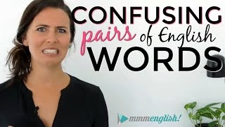 Confusing English Words! | Fix Common Vocabulary Mistakes & Errors