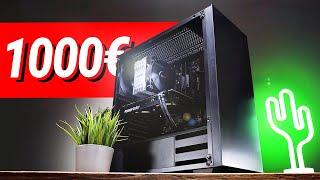 1000€ Euro GAMING PC 2021!! - Test & Zusammenbauen