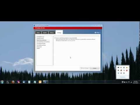 Turn On and Off Microsoft Security Essentials (MSE) Antivirus Program