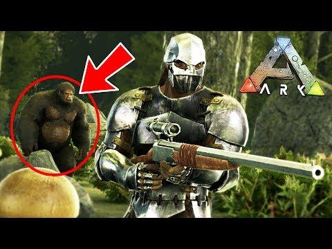 ARK: Survival Evolved - FINDING BIGFOOT!! (ARK Aberration)