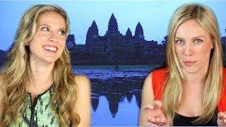 """Siem Reap/Angkor Wat, Cambodia Travel Guide -- """"Go or No?"""" Review 
