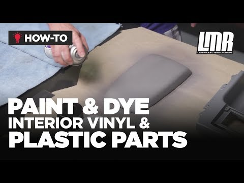 How To Paint/Dye Interior Vinyl & Plastic Parts - Mustang Tech (Fox Body, SN95 & S197)