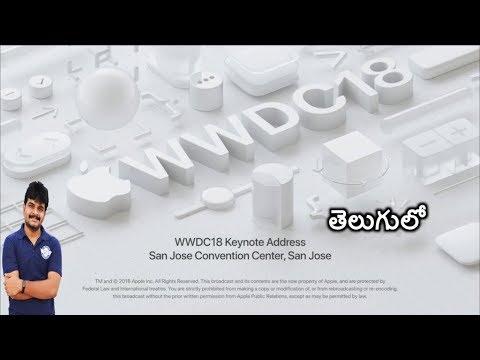 Apple WWDC 2018 keynote in 11 minutes ll in telugu ll