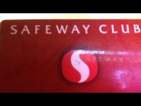 SAFEWAY DISCONTINUES CLUB CARDS