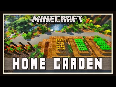 Minecraft: Backyard Home Garden Design   (Modern House Tutorial  Ep. 27)