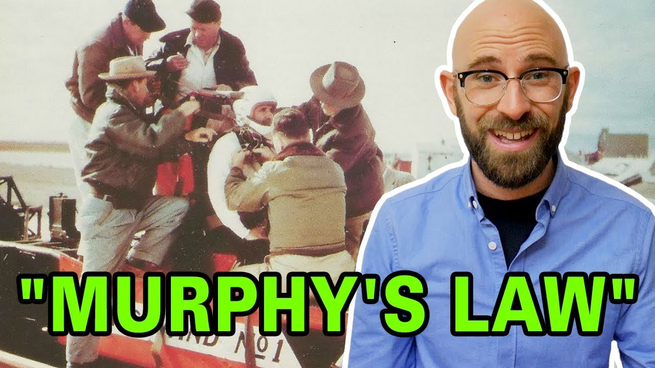 Who was Murphy in Murphy's Law? (And the Hero Dr. John Paul Stapp Who Gave Us the Expression)