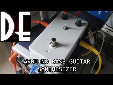 Arduino Bass Guitar Synth - Quick Demonstration