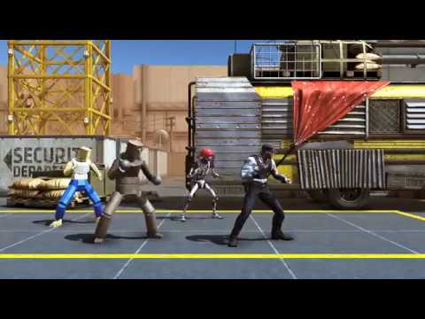 Beat 'Em Up Fight Animation 2.5D-2