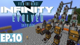 FTB INFINITY EVOLVED SKYBLOCK - FLUX-INFUSED ARMOUR & WITHER FIGHT