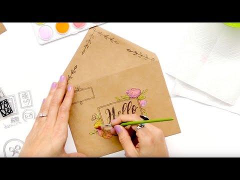 How to Make Decorative Envelopes with Katelyn Lizardi