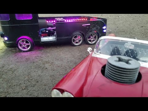 Dual Nitro Motors insane RC collection wltoys rebuild on a budget