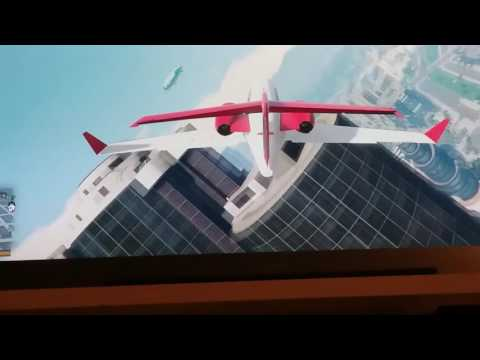 Fly jet air line in gta5