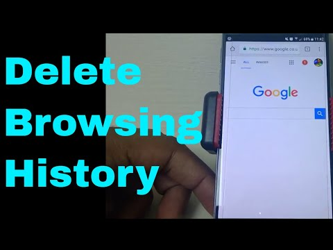 Delete Search History - Android - iPhone - Chrome