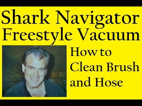 Shark Navigator Freestyle Vacuum, How to the Clean Brush and Hose