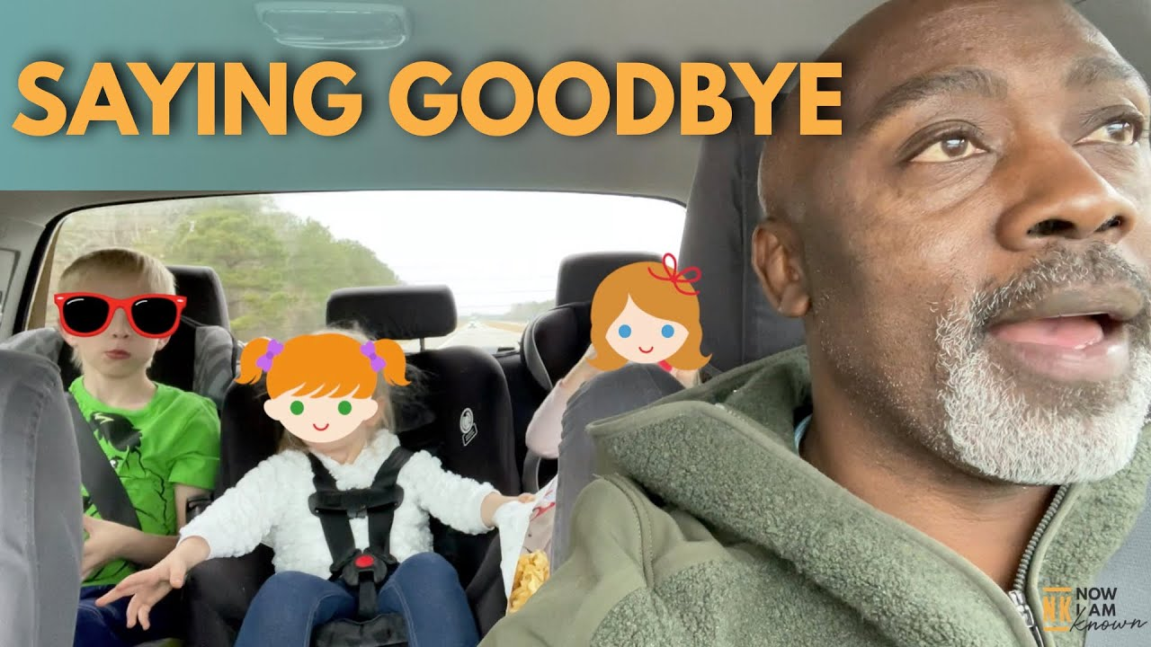 FOSTER DAD SAYS GOODBYE | KIDS GO BACK HOME