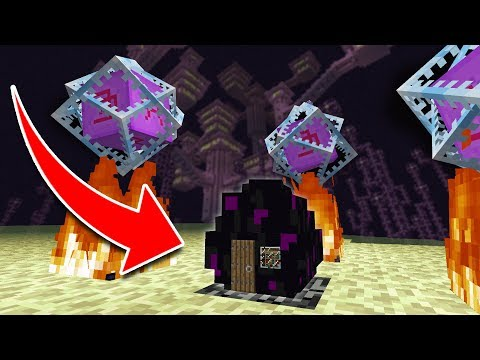 How to Live Inside an ENDER DRAGON EGG in Minecraft Tutorial (Pocket Edition, PS4, Xbox, Switch, PC)