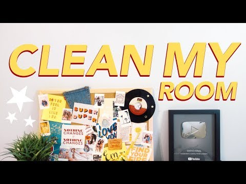 CLEAN MY ROOM WITH ME!
