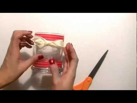 Christmas Snowflake Candle Holder