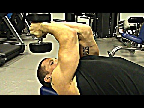Get REALLY BIG TRICEPS With Dumbbells!