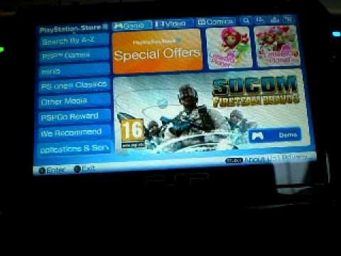 Psp Go's Playstation Store