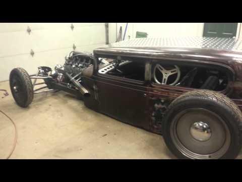 Bagged LSx 31 Chevy Sedan Rat Rod  Ride Tech  Air Ride 
