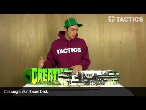 How to choose a skateboard deck - Tactics.com