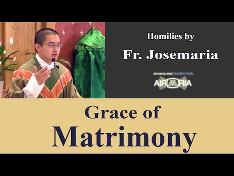 Grace of Matrimony - May 25 - Homily - Fr Josemaria