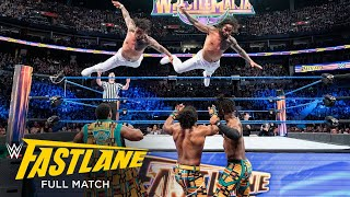 FULL MATCH - The Usos vs. The New Day - SmackDown Tag Team Titles Match: WWE Fastlane 2018