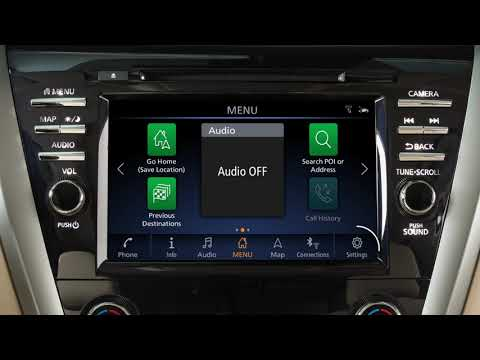 2019 Nissan Murano - Control Panel and Touch Screen Overview