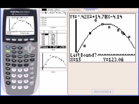 PC: 2.8 Notes: Example 2 - Fitting a Quadratic Model