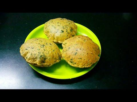 Palak Puri by Poonam (Breakfast Special)