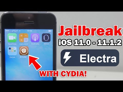 How to Jailbreak iOS 11.0 - 11.1.2 Using Electra & Install Cydia on iPhone, iPod touch or iPad