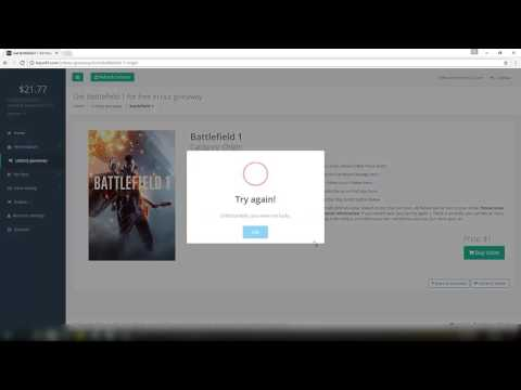 Battlefield 1, Steam Games and Xbox Live for Free [Tutorial]