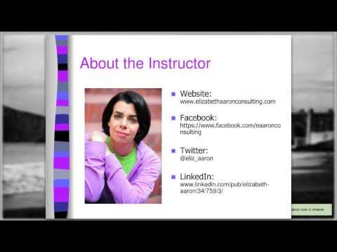 Social Media Marketing for Beginners Class I: Less Stress and More Success