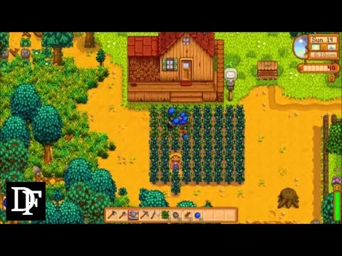 Stardew Valley - Most Profitable Crop Progression in Year One