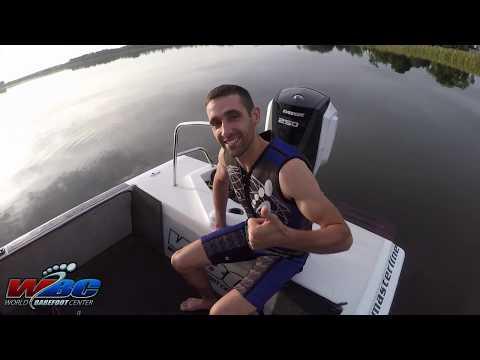 Keith Saint Onge: Beginner Barefoot Water Ski Start With Driving Tips!
