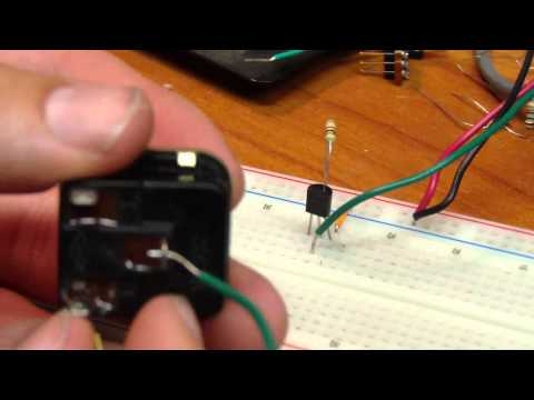 How to use LM335 Temp Sensor