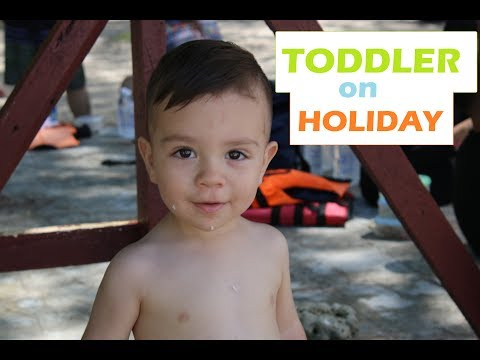 Toddler Morning Routine on Holiday