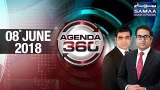 Reham Khan Ki Kitab Mein Kis Kis Per Ilzam | Agenda 360 | SAMAA TV | 08 June 2018