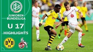 Borussia Dortmund vs. 1. FC Köln 2:3 | Highlights | U17 Bundesliga | Finale