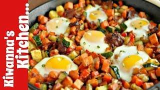 Breakfast Sausageegg Potato Mini Skillets