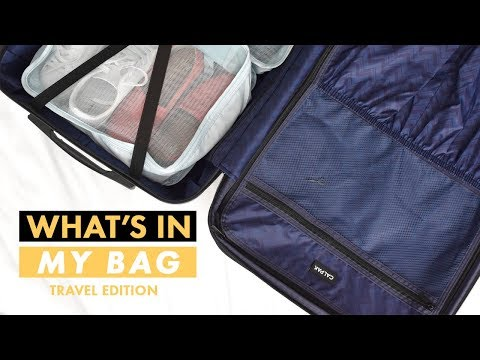 What's in my Travel Bag / How to Pack for Vacation | Alicia Fuller