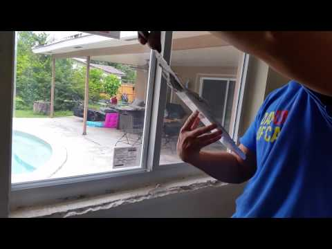 How to Install a marble window sill 3