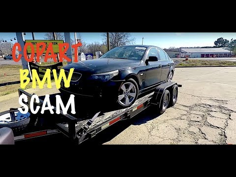 Copart BMW E60 Purchase Gone Wrong !!!