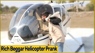 Epic Beggar Prank With Helicopter | RDS Productions