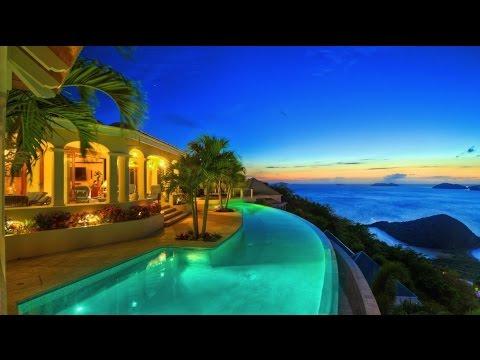 Superb Breathtaking Panoramas Celestial House Luxury Residence in British Virgin Islands
